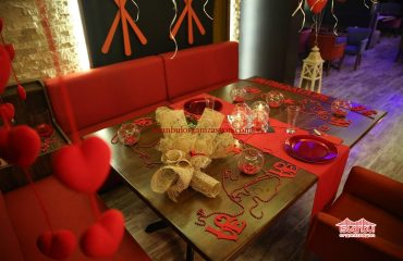 Kumaş Rafya Süsleme Çiçek Süsleme Evlenme Teklifi Organizasyonu İstanbul Organizasyon