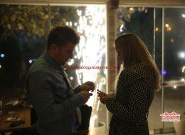 Kafede Evlilik Teklifi Organizasyonu İstanbul Organizasyon