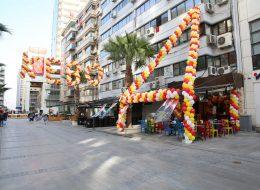 Özel Şekilli Balon Süsleme Açılış Organizasyonu İstanbul