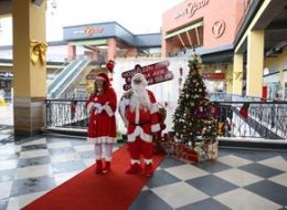 Novada Alışveriş Merkezi Etkinlikleri Noel Baba Hediye Servisi İstanbul Organizasyon