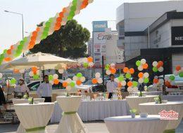Zincir Balon ve Papatya Balon İstanbul Organizasyon