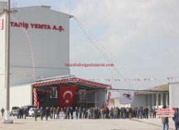 Tariş Açılış Organizasyonu Kurumsal Etkinlikler İstanbul Organizasyon