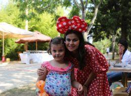 Minnie Mouse Kostümlü Karakter Hizmeti İstanbul Organizasyon
