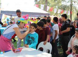 Festival ve Şenlik Organizasyonu Yüz Boyama Aktivitesi İstanbul Organizasyon