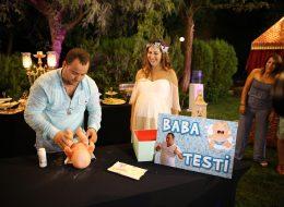 Baby Shower Partisinde Babalık Testi ile Eğlenceli Anlar