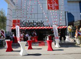 Kelebek Mobilya Açılış Organizasyonu Bayrak Süsleme Servisi İstanbul Organizasyon