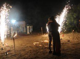 Sahilde Romantik Evlilik Teklifi Organizasyonu Bodrum