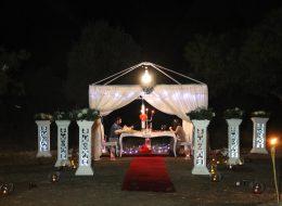Kumsalda Evlenme Teklifi Organizasyonu Bodrum
