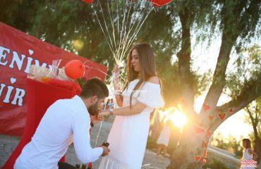 Çeşme Alaçatı'da Evlilik Teklifi Organizasyonu İstanbul Organizasyon