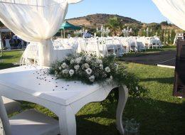 Nikah Masası Çiçek ve Tül Süsleme Hizmeti İstanbul Organizasyon