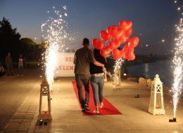 Yer Volkanı Gösterisi ve Evlilik Teklifi Organizasyonu İstanbul