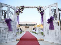 Düğün Organizasyonu Kapı Takı Temini Tül ve Çiçek Süsleme Servisi İstanbul Organizasyon
