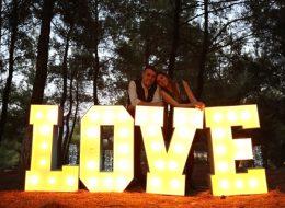 Ledli Harf Kiralama ve Evlilik Teklifi Organizasyonu İstanbul