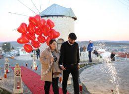 Çeşme Alaçatı Evlenme Teklifi Organizasyonu İstanbul Organizasyon