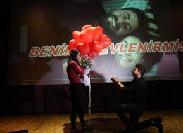 Sinemada Evlilik Teklifi Organizasyonu İstanbul