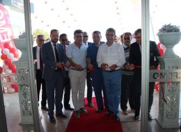 Finike Protokol Katılımlı Açılış Organizasyonu Kurdele Kesme Töreni