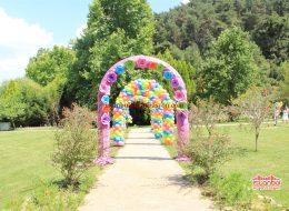 Kapı Takı Balon Süsleme Servisi İstanbul Organizasyon