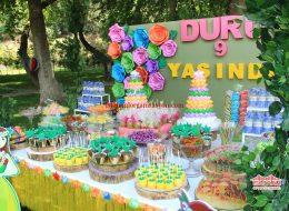 Doğum Günü Organizasyonu Şekerleme Masası Süsleme İstanbul Organizasyon