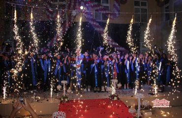 Karma Sahne Efektleri Mezuniyet Organizasyonu İstanbul Organizasyon