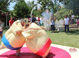 Sumo Güreşi Şişme Oyuncak Kiralama İstanbul Organizasyon
