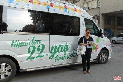 Mersin Kipa Çat Kapı Projesi Reklam Arabası İstanbul Organizasyon