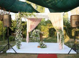 Nikah Masası Kumaş ve Tül Süsleme Servisi İstanbul Organizasyon