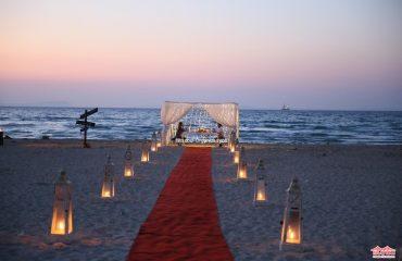 Kumsalda Evlilik Teklifi Organizasyonu İstanbul Organizasyon