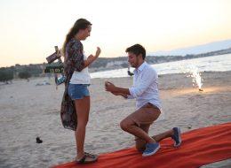 Sürpriz Evlilik Teklifi Organizasyonu Evlilik Teklifi Anı İstanbul