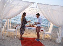 Sahilde Evlilik Teklifi Organizasyonu Çeşme