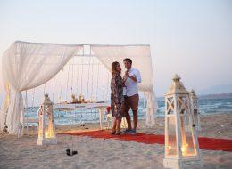 Romantik Dans Anı ve Duygusal Evlilik Teklifi Organizasyonu