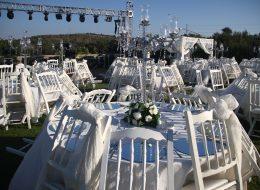Düğün Organizasyonu Masa Temini İstanbul Organizasyon