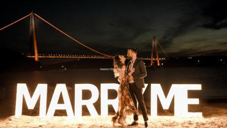 İstanbul Evlilik Teklifi Organizasyonu