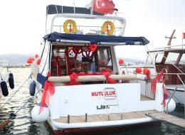 Mutluluk Teknesi Özel Dekorlar ile Süsleme Hizmeti İstanbul Organizasyon