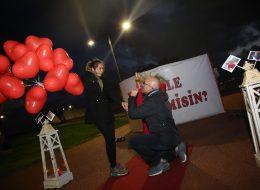 Evlilik Teklifi Organizasyonu Özel Dekorlar ile Süsleme Servisi İstanbul Organizasyon