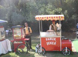 Piknik Organizasyonu Nostaljik Satıcılar Temini Patlamış Mısırcı Hizmeti İstanbul Organizasyon