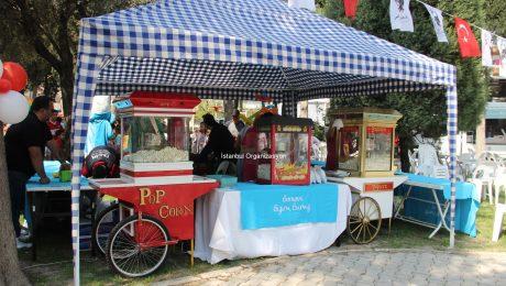Patlamış Mısırcı Popcorn Nostaljik Sokak Satıcılar Hizmeti İstanbul Organizasyon