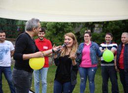 Helyum Gazlı Balonla Şarkı Söyleme İstanbul Piknik Organizasyonu