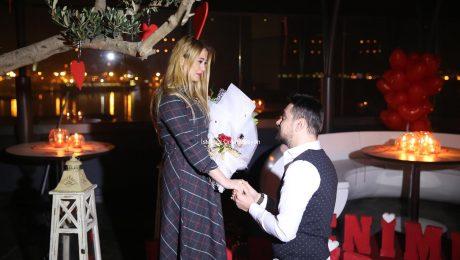Restoranda Evlilik Teklifi Organizasyonu İstanbul Organizasyon