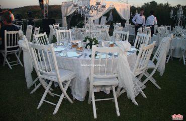 Düğün Organizasyon Masa ve Sandalye Kiralama İstanbul Organizasyon