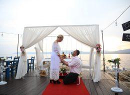 Evlilik Teklifi Anı ve Romantik Dakikalar İstanbul