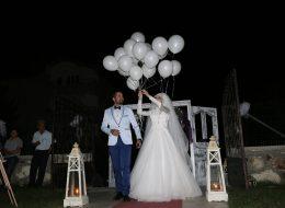 Düğün Organizasyonu Uçan Balon Süsleme Servisi İstanbul Organizasyon
