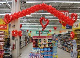 Alışveriş Merkezi Etkinlikleri Uçan Balon Süsleme Hizmeti İstanbul Organizasyon