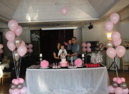 Kız Çocuk Doğum Günü Organizasyonu Uçan Balon Süsleme Hizmeti İstanbul Organizasyon