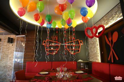 Renkli Uçan Balon Süsleme Servisi İstanbul Organizasyon