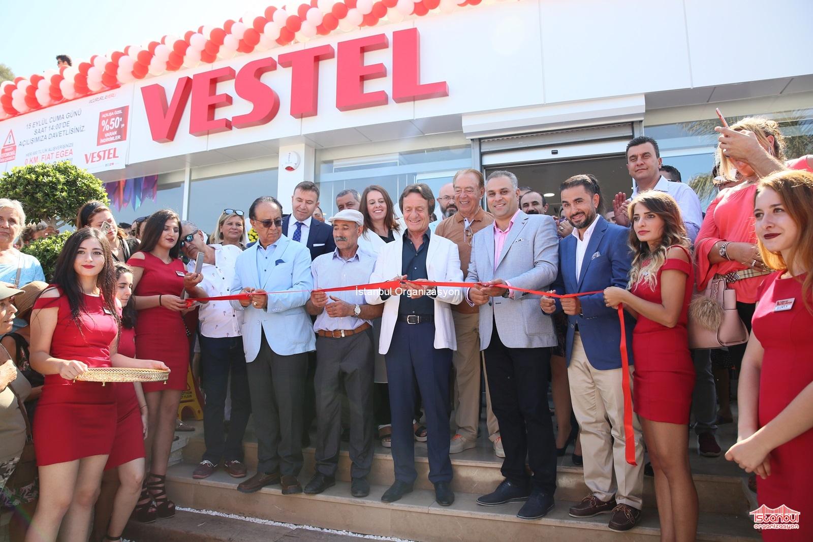 Vestel Mağazası Açılış Organizasyonu İstanbul Organizasyon