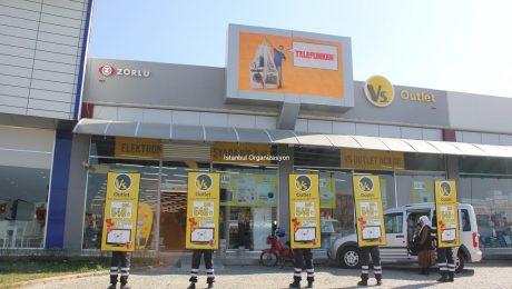 Vs Outlet Türkiye Geneli Açılış Organizasyonu İstanbul Organizasyon