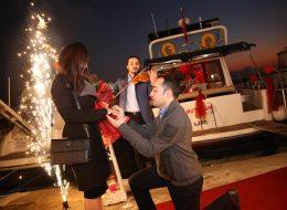 Evlilik Teklifi Organizasyonu Yer Volkanı Temini Kemancı Hizmeti İstanbul Organizasyon